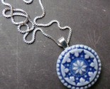 Snowflake Necklace from Round Rabbit