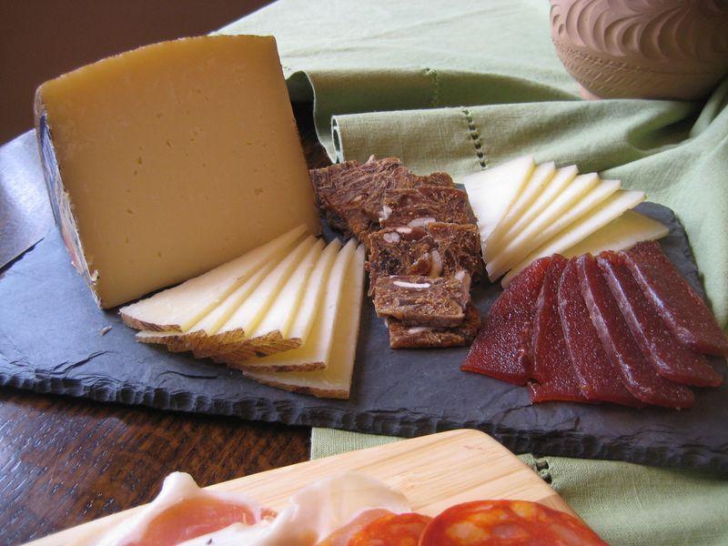 Cheese and Membrillo