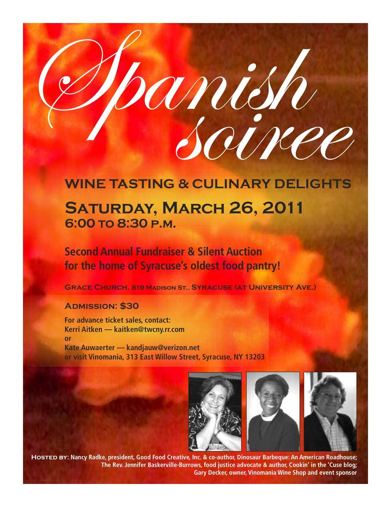 Spanish Soiree Poster