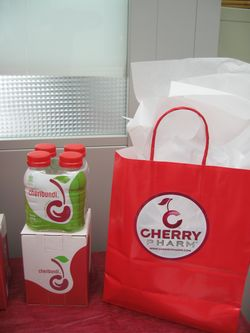 7.cherry juice