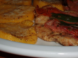 Polenta_and_chicken