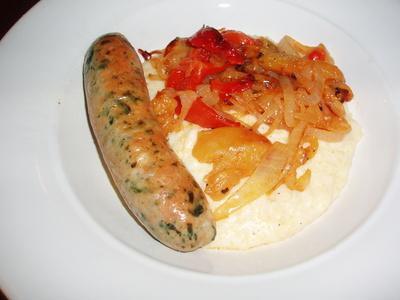 Polenta_and_sausage